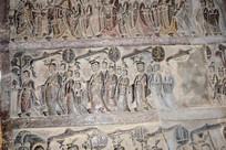 古代宫廷人物雕刻图