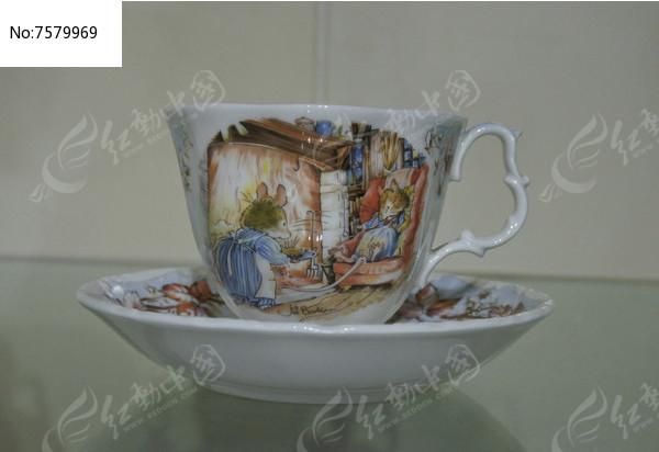 卡通画茶杯图片