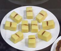 老北京小吃豌豆黄