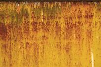 锈蚀严重的墙面
