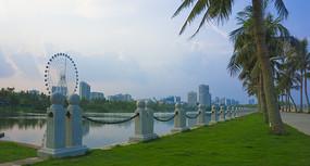 湛江海滨公园摩天轮
