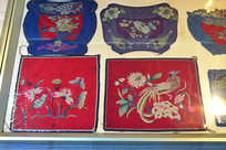 古代刺绣文物展示