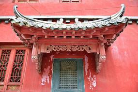 古建筑中的门檐