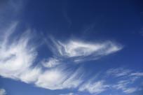 蓝色天际风云变幻