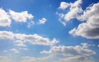 棉花状白云