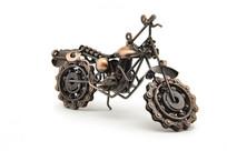 摩托车手工摆件