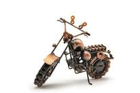 手工摩托车模型