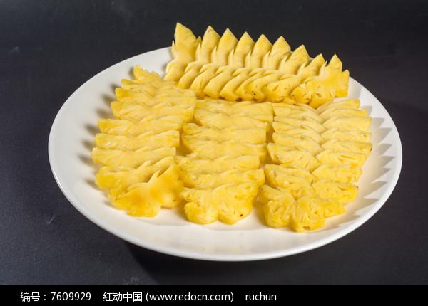菠萝拼盘图片,高清大图_水果蔬菜素材