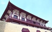 高大的城门楼建筑