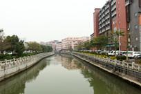 广州海珠上涌河道