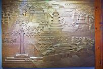 古代洛阳城建筑浮雕