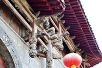 古代山门木雕工艺