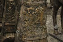 古代士兵盔甲花纹图片
