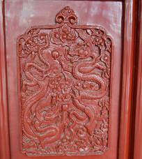 古典门板木雕装饰