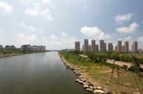 环境优美的滨海城市建筑