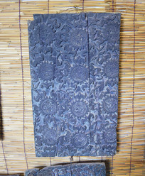 五福祝寿木质印模