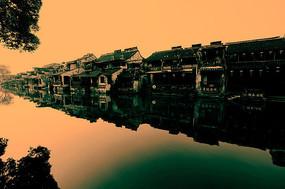 西塘古镇 沉积的历史建筑
