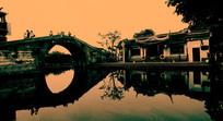 西塘古镇 环秀桥石拱桥