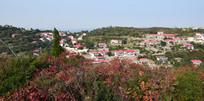 依山而建的村庄