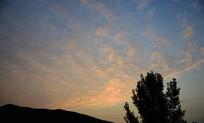 早晨的天空摄影图