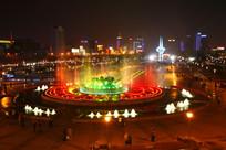 济南泉城广场音乐喷泉