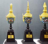 泰国赠送的金顶佛头