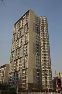 塔式高层居民大楼