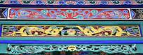 中国龙彩绘图片
