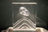 玻璃艺术品人头山子