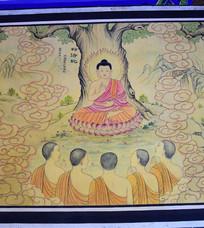 佛祖转法轮图片