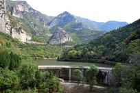 高山绿水秀美景观摄影