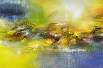 极简风格现代抽象油画
