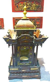 木雕神龛文物古董