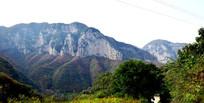 秋季的大山景观摄影图