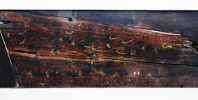 鲜卑狩猎木板画