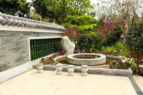 广州海珠湖公园园林景观造型