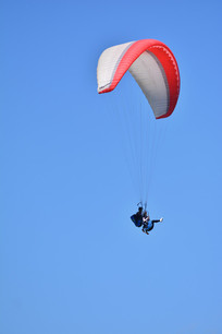 尼泊尔博卡拉滑翔伞