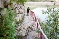 石头小道景观摄影