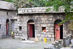 豫东民居石头房图片