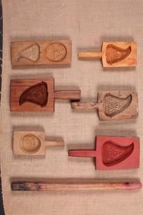 年糕印花木模具