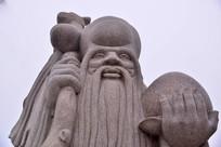 石雕老寿星