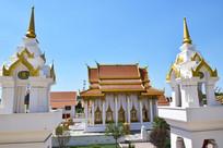 泰国的佛殿建筑摄影