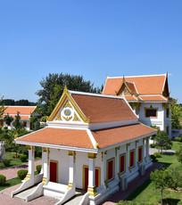 泰式寺院建筑摄影
