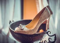 新娘婚鞋摄影