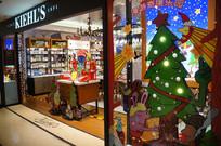 专卖店圣诞装饰