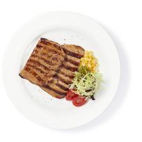 黑沙灣風味燒豬頸肉