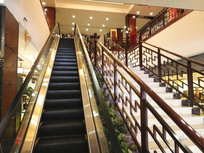 红木展厅楼梯