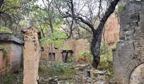破败的老房子图片素材