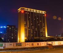 舟山绿城喜来登酒店夜景