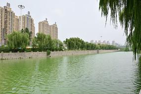 滨河公园河道景观